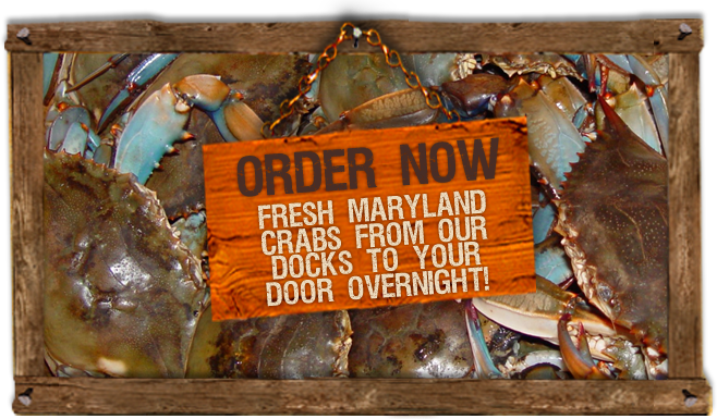 Order Now! Fresh from our docks to your door overnight!